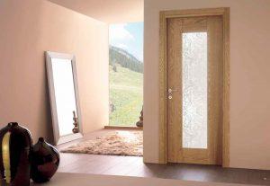 Porte in legno. Toscocornici. Porte da interno in stile classico